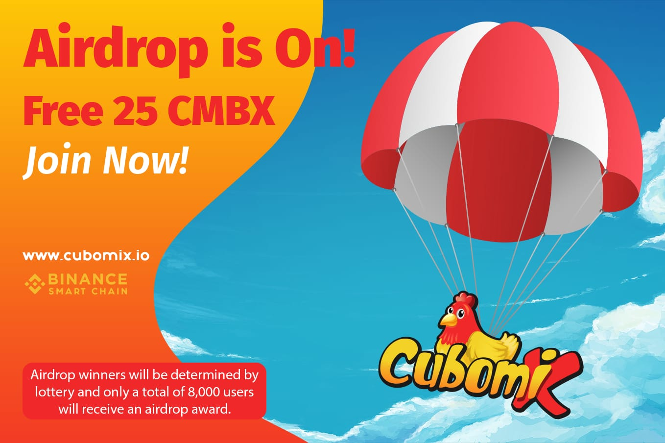 Join Cubomix Airdrop
